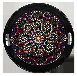 Webster Mosaic Mandala Tray