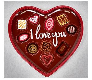 Webster Valentine's Chocolate